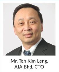 Mr Teh Kim Leng, AIA Bhd, CTO