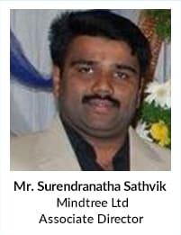 Mr Surendranatha Sathvik, Mindtree Ltd, Associate Director